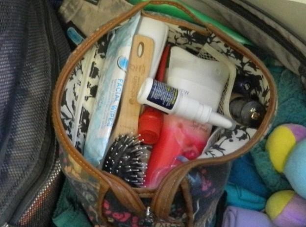 Minimalistisch Reisen - Packliste Kulturbeutel