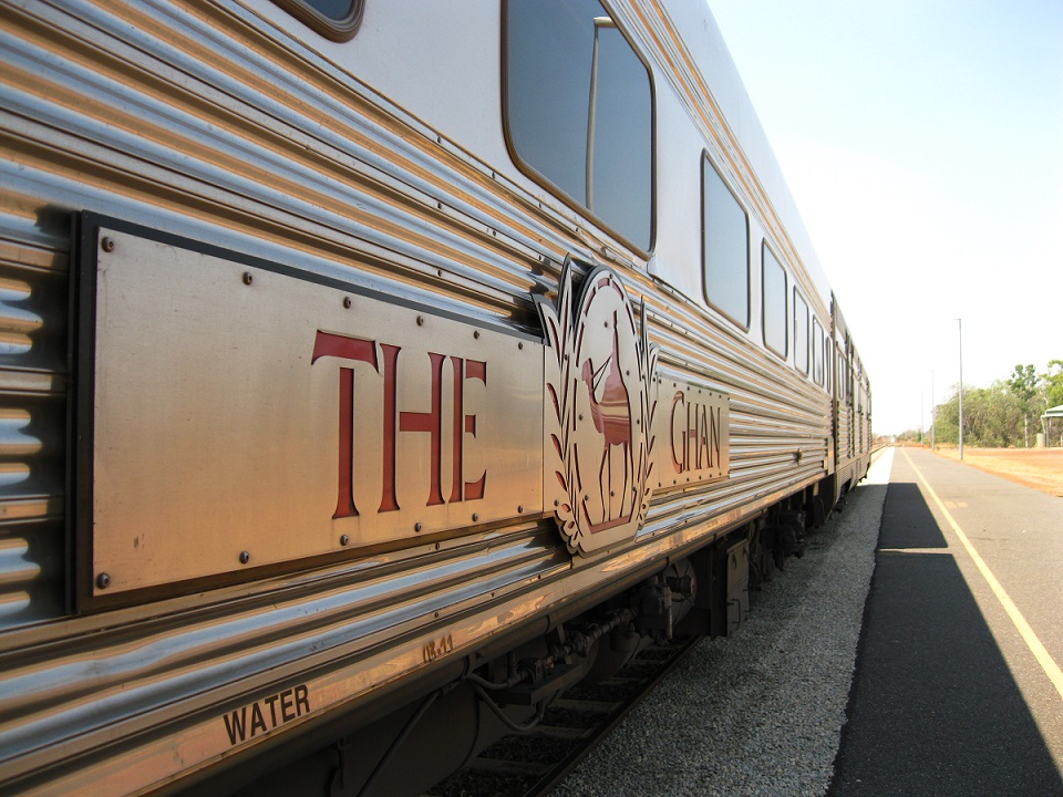The Ghan Australien Zug