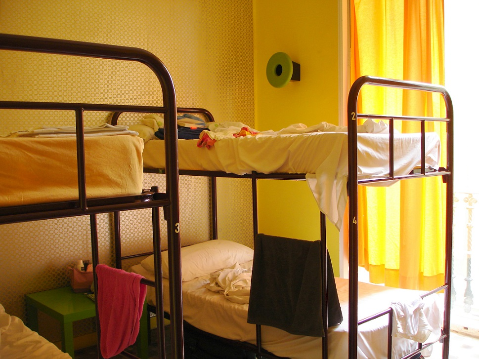 Hostel Valencia Spanien