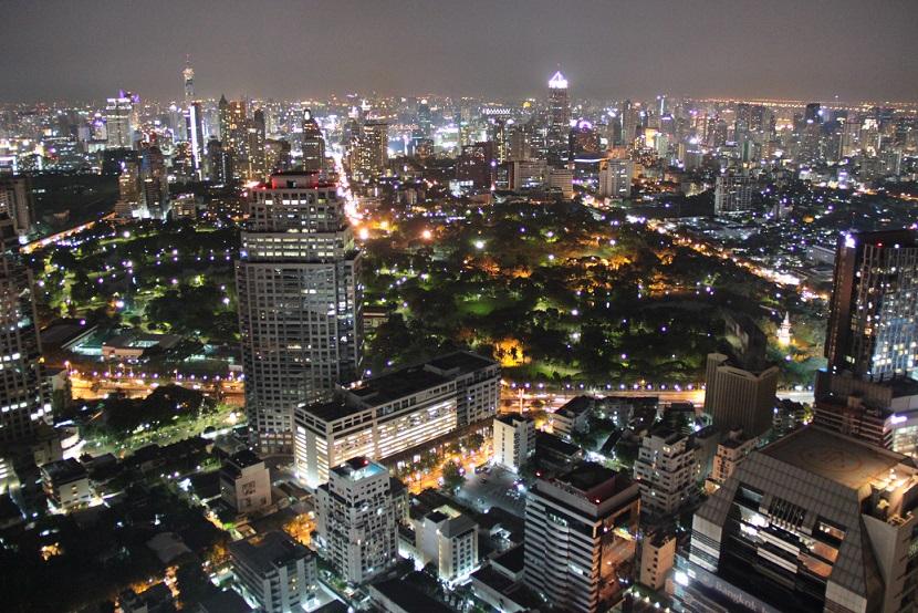 Bangkok - Aussicht von der Moon Bar
